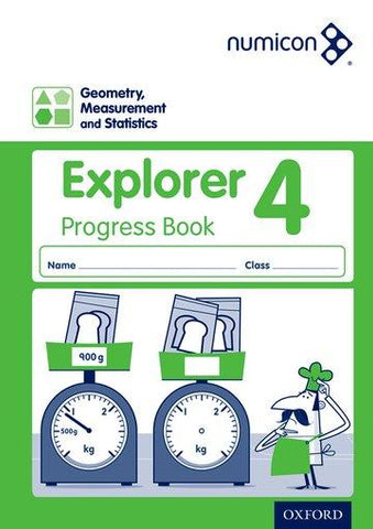 Numicon Geometry, Measurement and Statistics 4 Explorer Progress Book