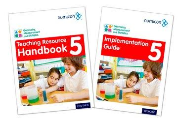 Numicon Geometry Measurement and Statistics 5 Teaching Pack