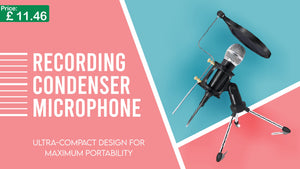 Best Recording Condenser Microphone for Computer and Phone