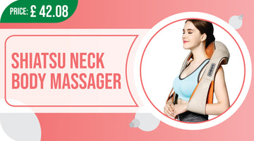 shiatsu neck & shoulder massager with heat