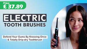 Rechargeable Tooth Brushes Replacement Heads Set