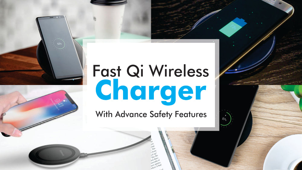 Fast Qi Wireless Charger For Mobiles