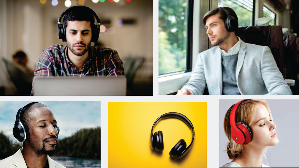 music headset FM and support SD card with Mic