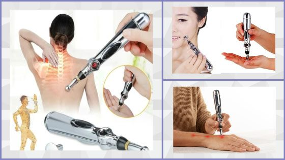 Relief Pain Tools Laser Therapy Heal Massage Pen