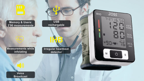 Heart Rate and BP Measuring Device