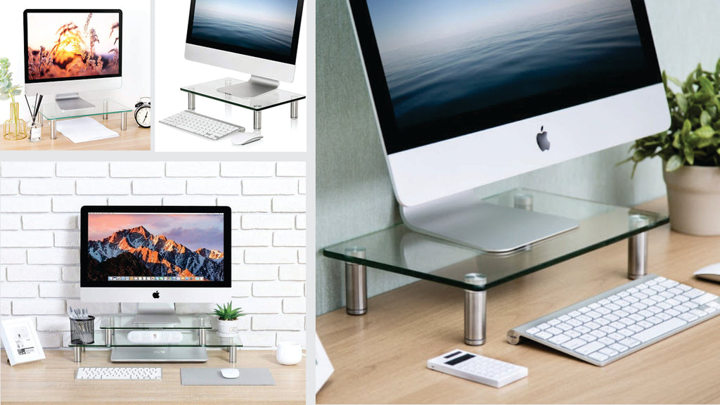 universal dual monitor stand
