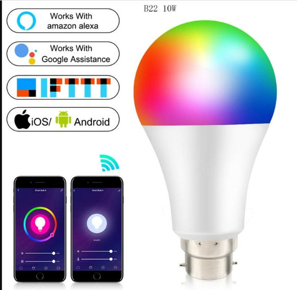 10W  Wifi Remote Controlled Color Changing bulb