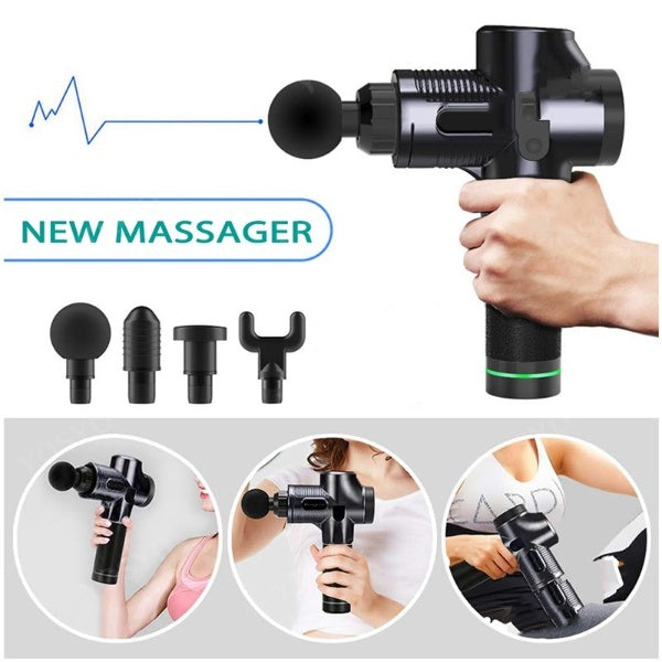new massager deep muscle gun