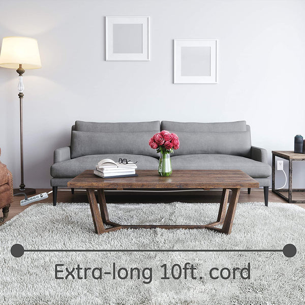 ultra secure new ge 6 outlet surge protector
