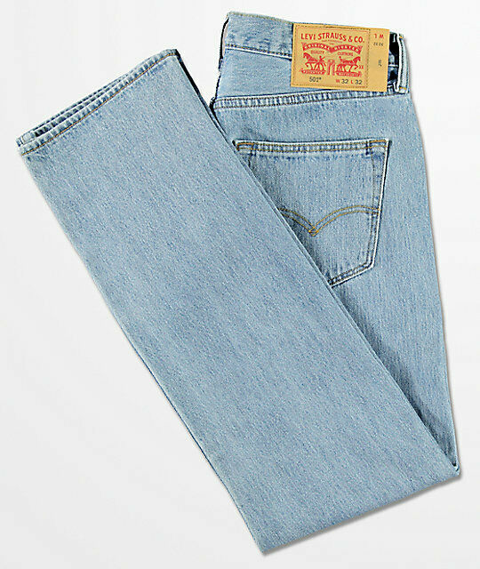 Men's Levi 501 Denim jeans new straight Fit -