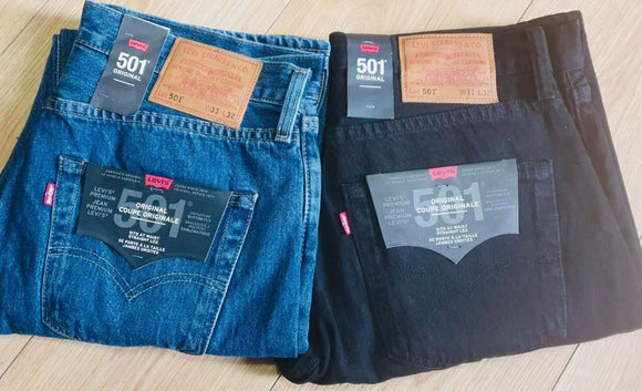 Men's Levi 501 Denim jeans Brand new straight Fit
