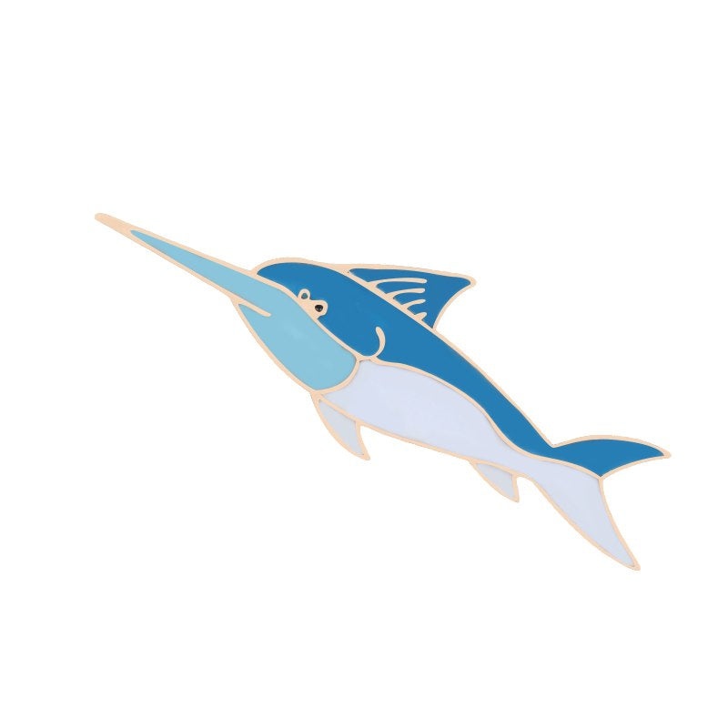 Hat Pin Marlin