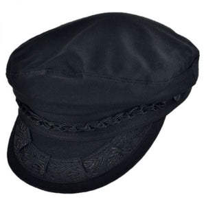 Avenel Greek Fisherman Cap, Wool