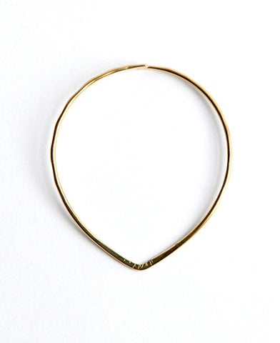 Geometric Teardrop Bangle