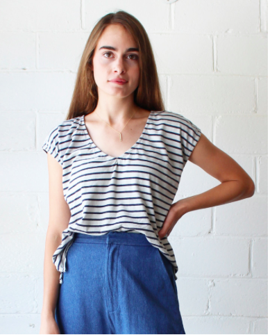 Evie Striped Tee