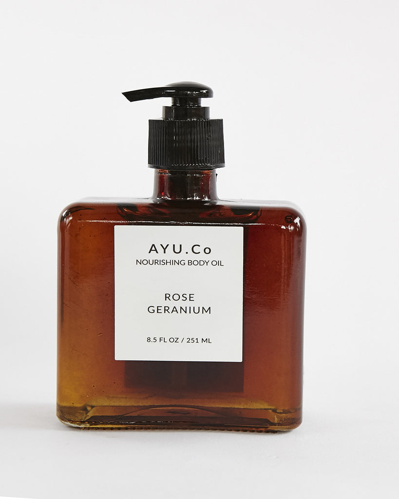 Rose Geranium Nourishing Body Oil