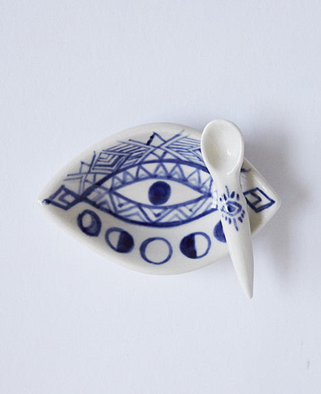 EYE Spice Cellar with Spoon