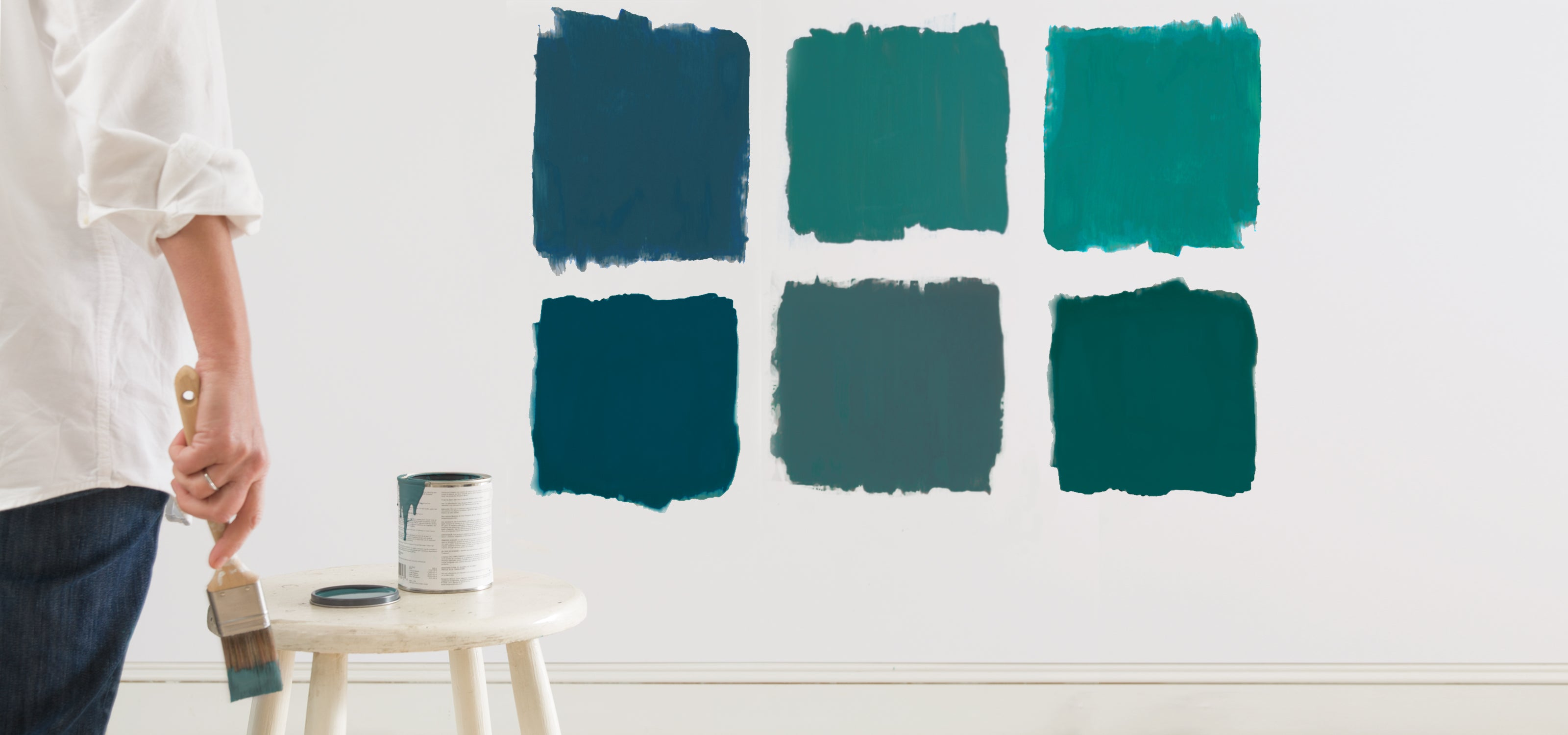 Custom Paint Color Mixing