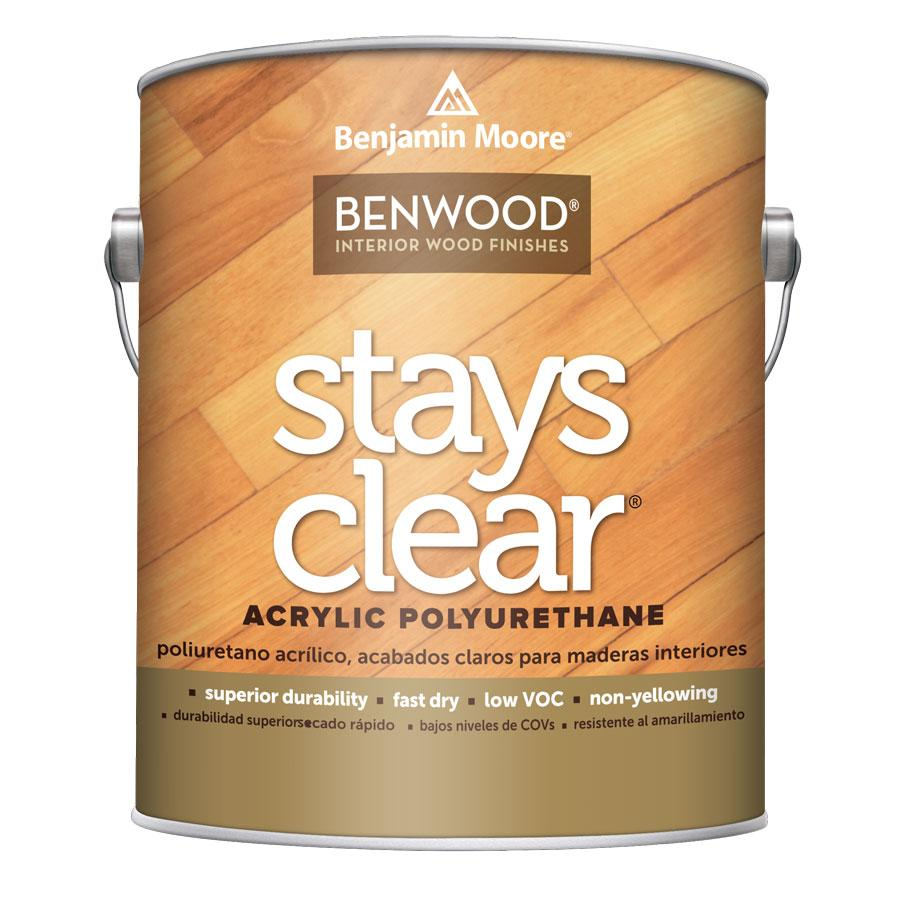 Benwood Stays Clear - Acrylic Polyurethane