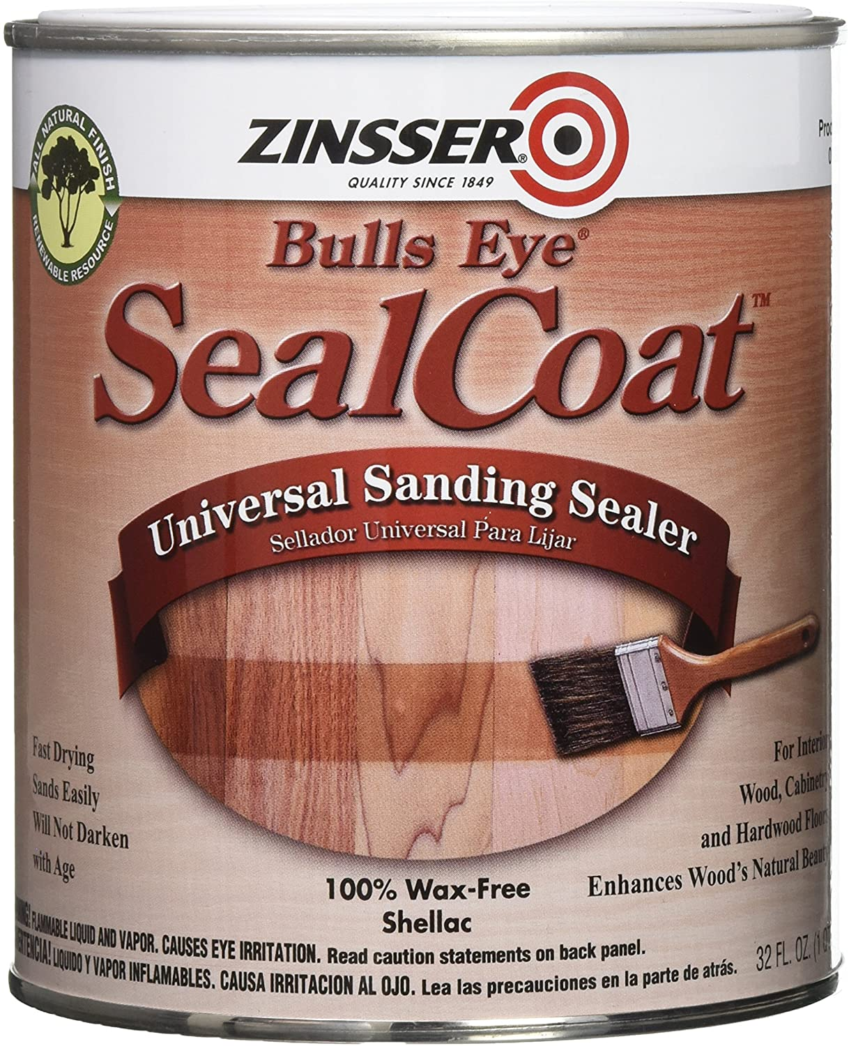 Zinsser Seal Coat Sanding Sealer