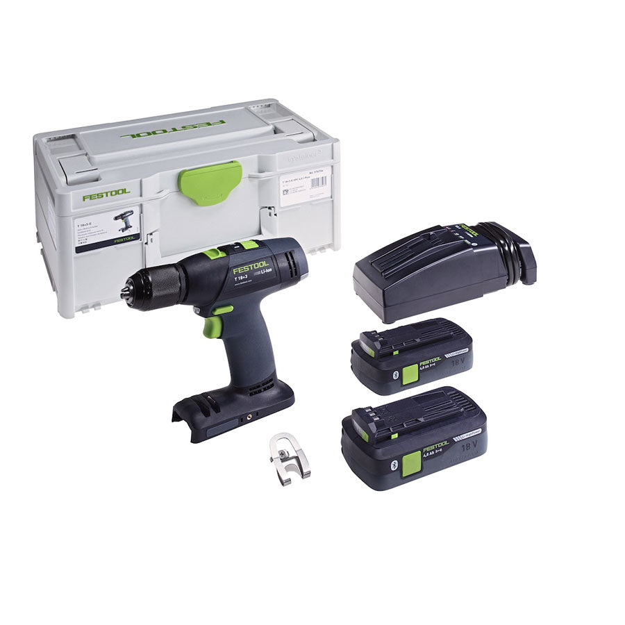 Festool Cordles t 18 Plus Kit #576754
