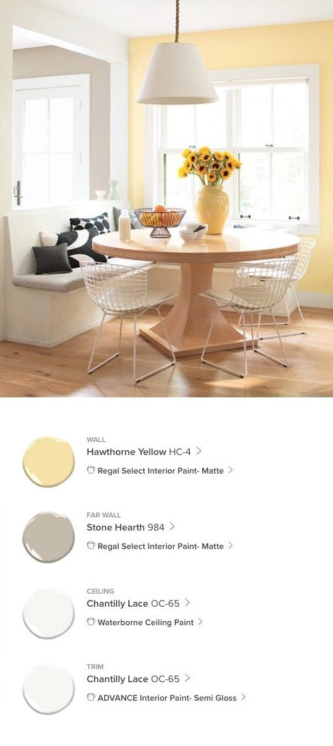 Charmer Yellows Interior Paint