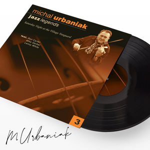 JAZZ LEGENDS III VINYL WITH AUTHOGRAPH
