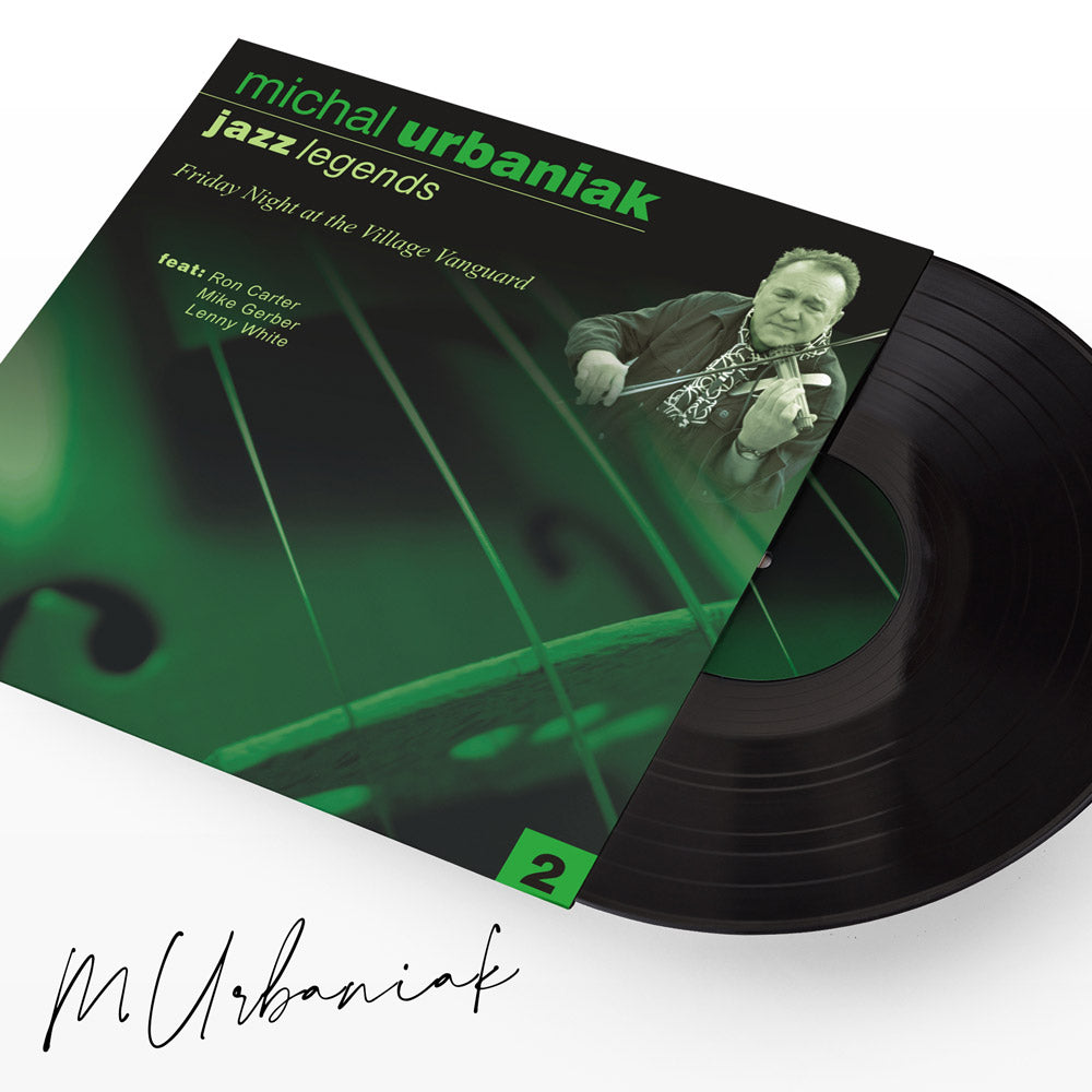 JAZZ LEGENDS II VINYL WITH AUTHOGRAPH