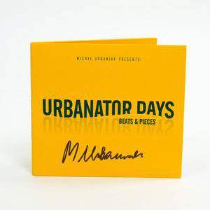 URBANATOR DAYS CD WITH AUTHOGRAPH