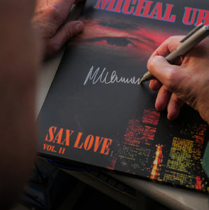Sax Love Vinyl VOL. II with autograph