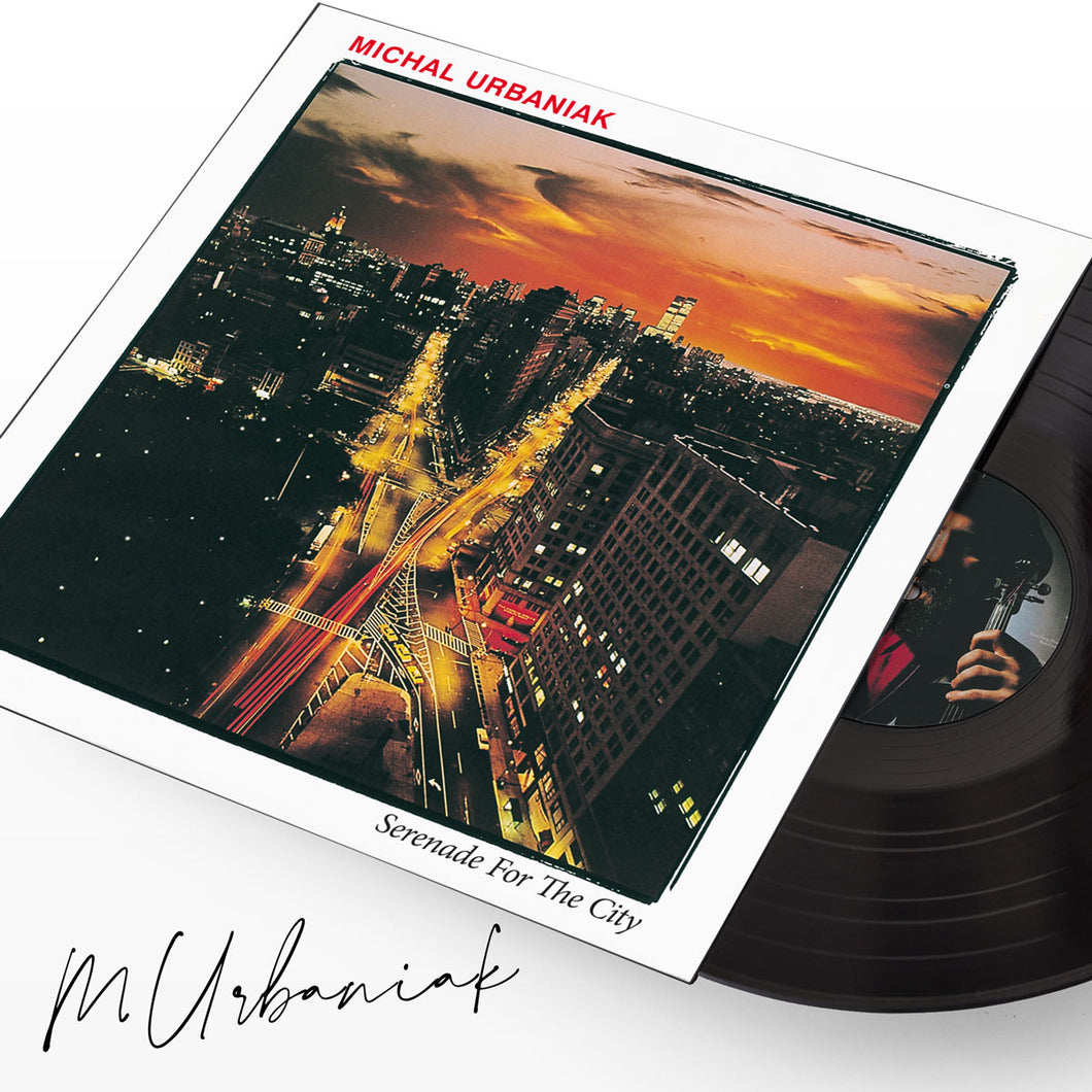 Serenade for the city VINYL with autograph