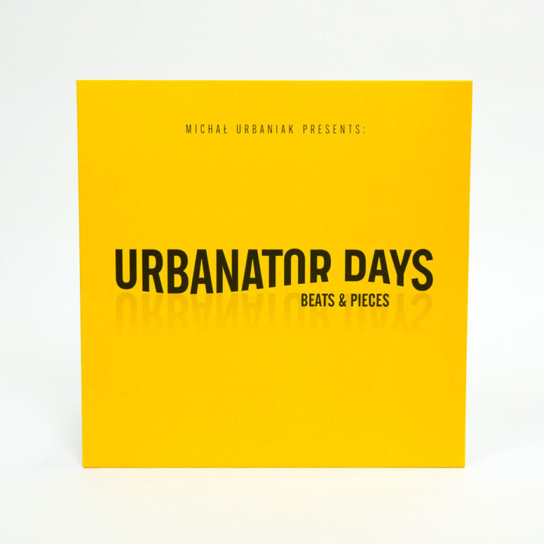 URBANATOR DAYS VINYL WITH AUTHOGRAPH