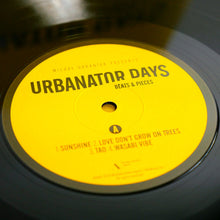 Load image into Gallery viewer, URBANATOR DAYS VINYL WITH AUTHOGRAPH