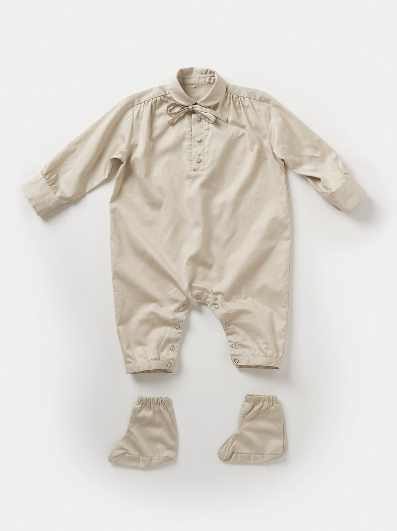 【21013-0102】baby ribbon PO rompers