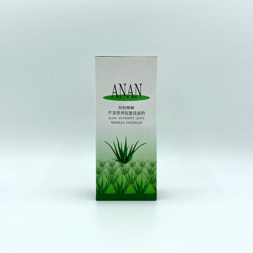 ANAN Aloe Nutrient Anti-Wrinkle Facewash