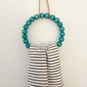 Beaded Towel Ring