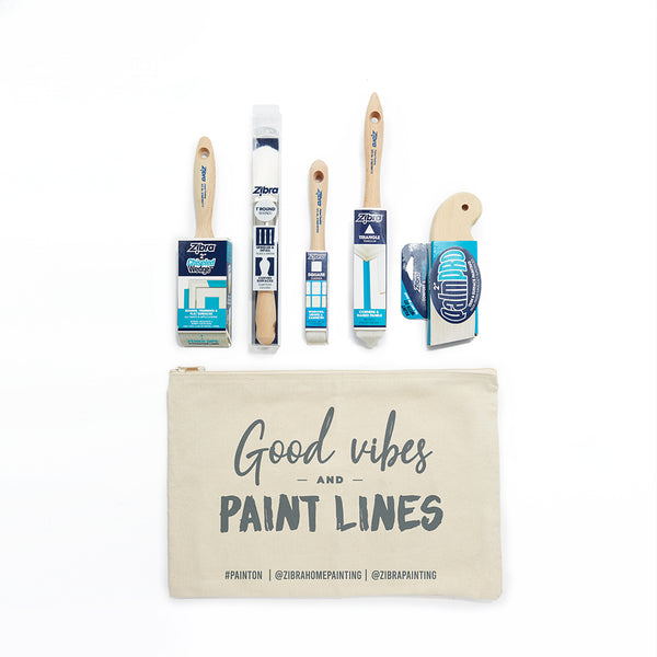 Best of Zibra Paintbrush Kit-5 piece