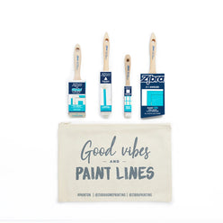 Room Makeover Paintbrush Kit - 4 Piece