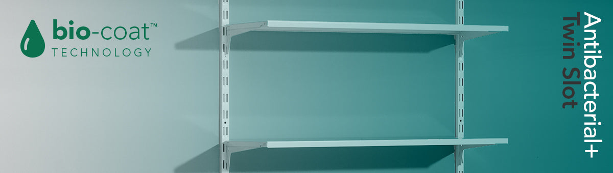 The Benefits of Antibacterial Coating on Twin Slot Shelving Systems