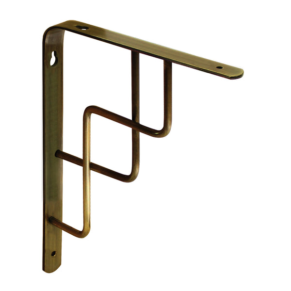 Brushed Brass Step Bracket