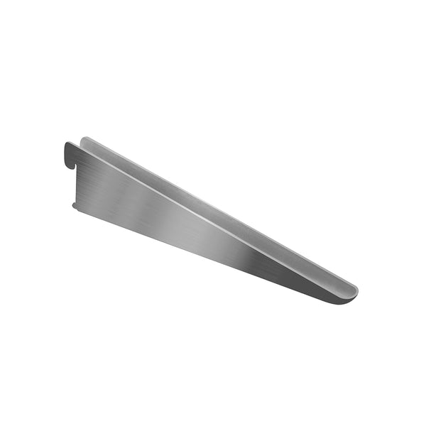Twin Slot U Bracket - Chrome (10 Brackets Pack)