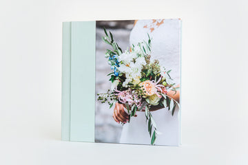 Photo album with a photo cover