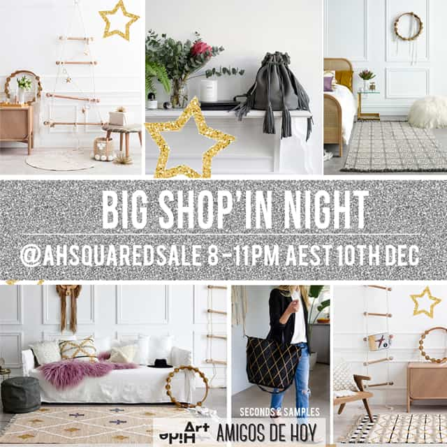 BIG SHOP'IN NIGHT SALE THIS SUND 10TH DEC !