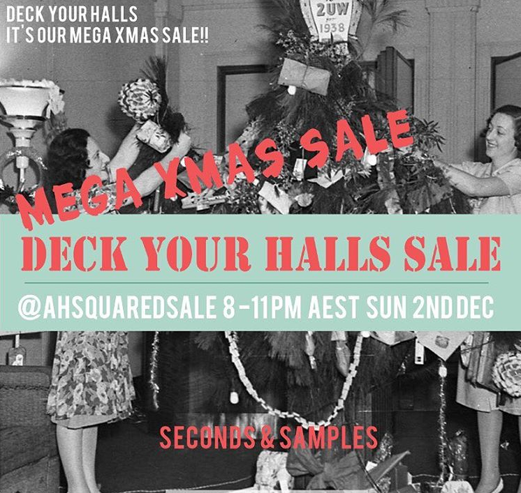 DECK YOUR HALLS SALE - this SUNDAY 2ND DEC