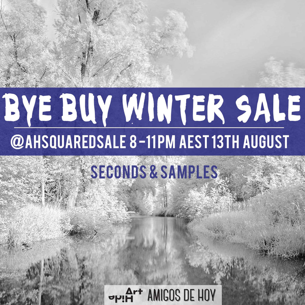 BYE BUY WINTER SAMPLE SALE - SUNDAY
