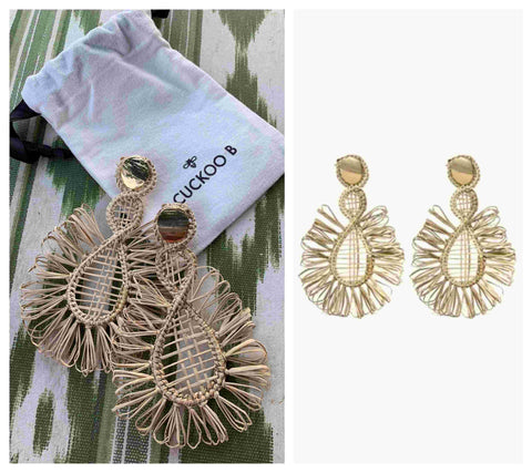 Ester Earrings | CuckooB| Saatxa Christmas Gift Guide