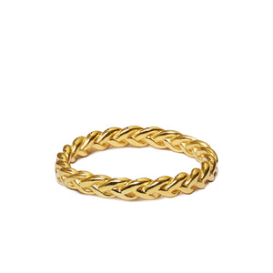 The Ada Plaited Ring