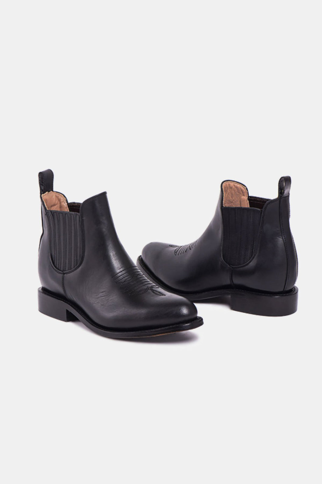 Eloisa Charro Boot Black