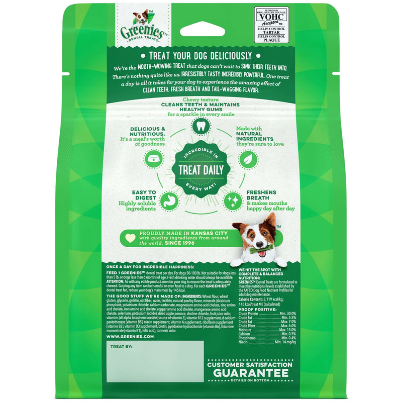 Greenies - Original Large Oral Care Dental Treats - Dog 340g Treats