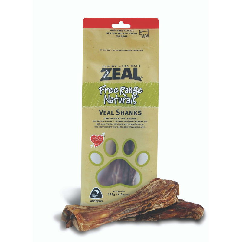 Zeal - Free Range Air Dried Veal Shanks - Dog 125g Treats
